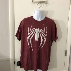 Mens Marvel Spider-Man T-Shirt Size XL